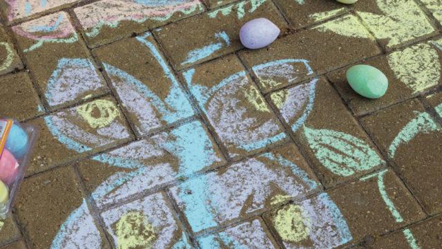 chalk eggs 2