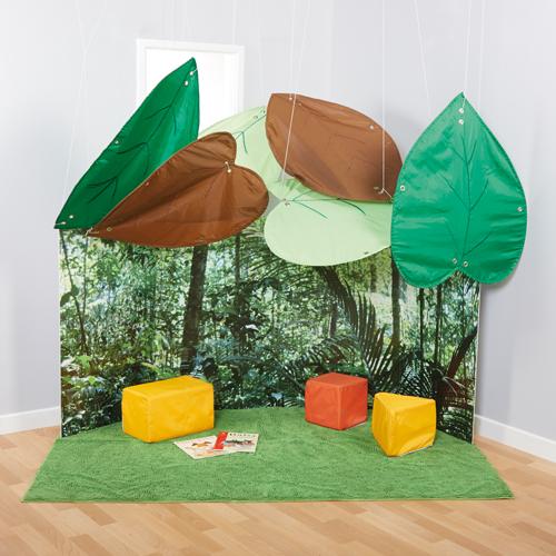 Jungle Theme 6 Leaf Canopy