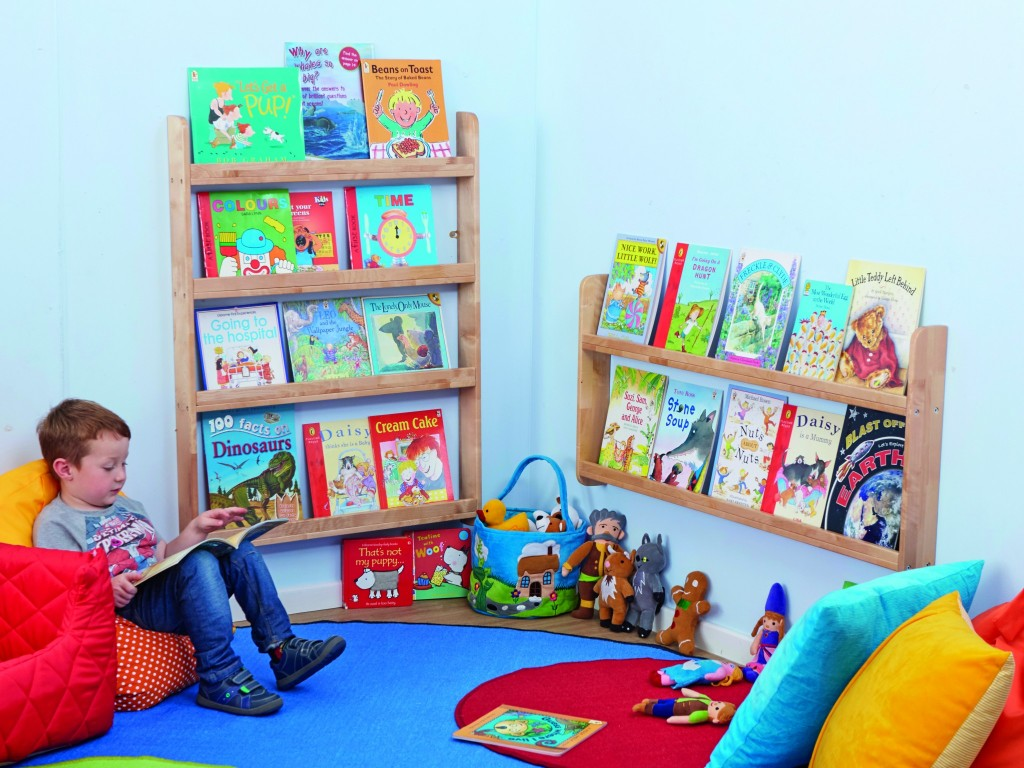 Toddler reading corner ideas the image for Kids reading corner ideas