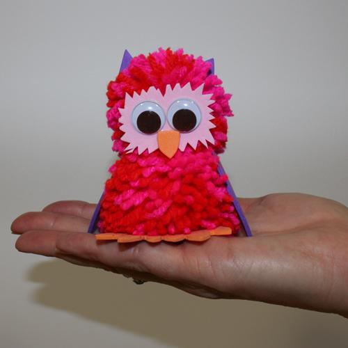 owl pom pom