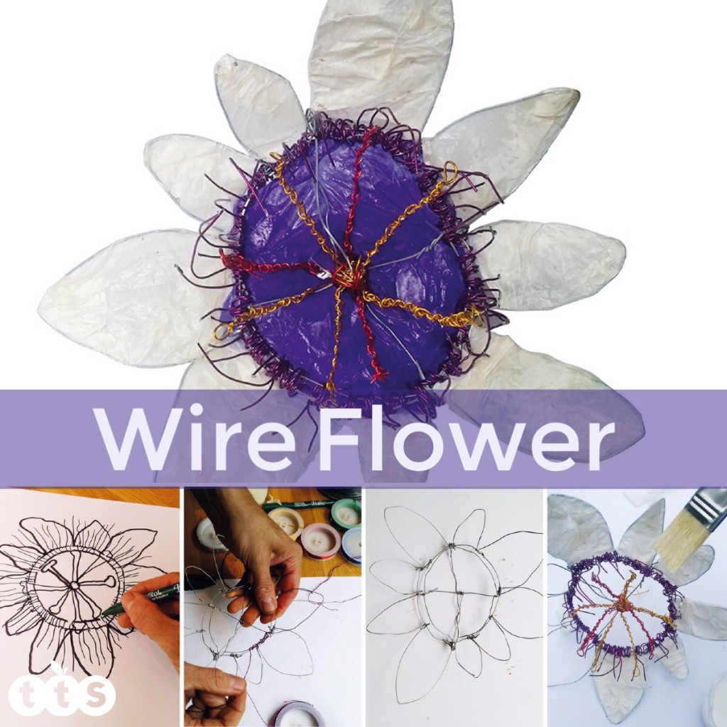 wire heart craft