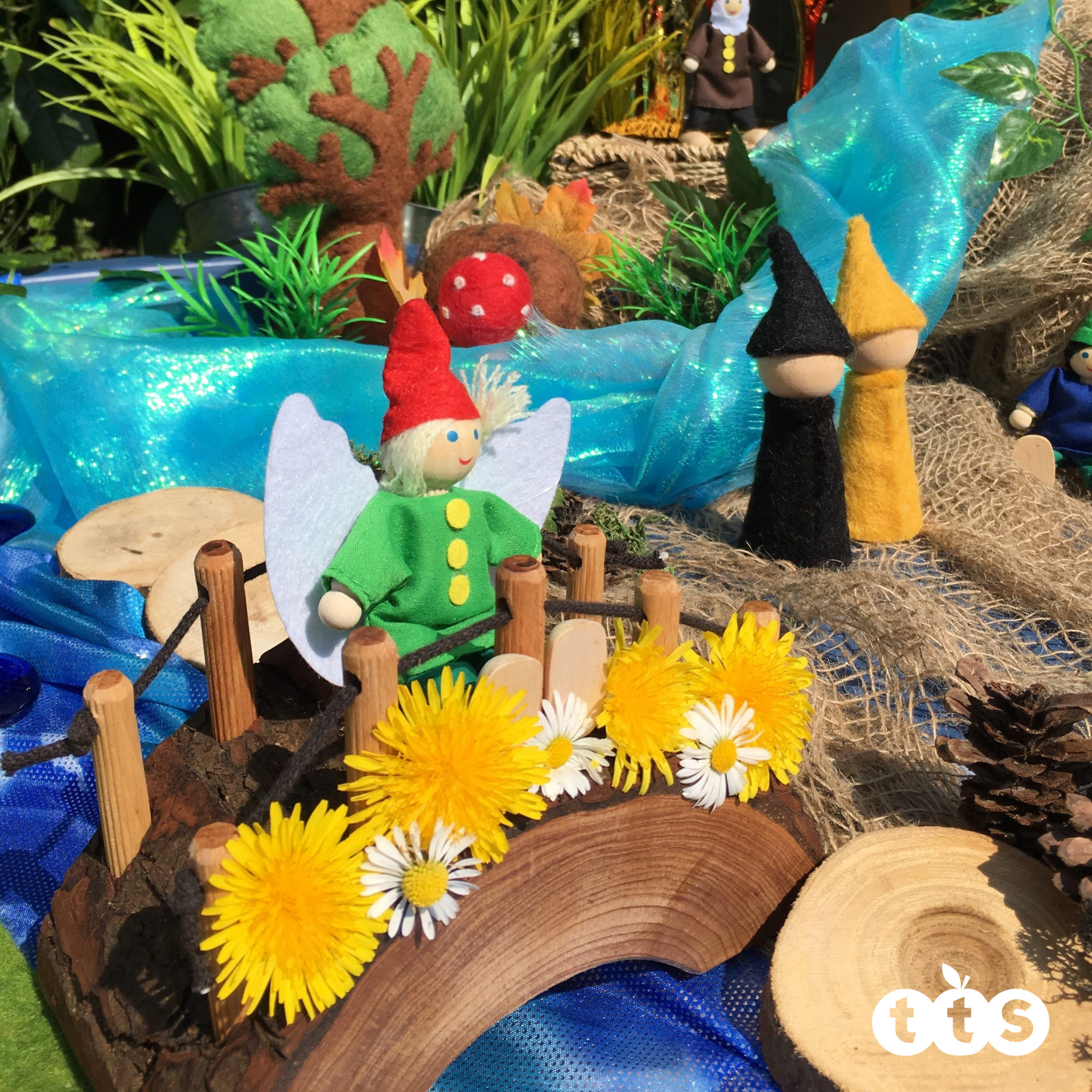Gnome Garden: Over 70 Ideas For Using Your Active World Tuff Spot Tray