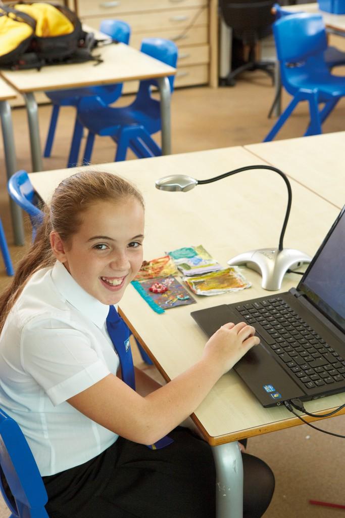 A vision for the future, via classroom visualisers?