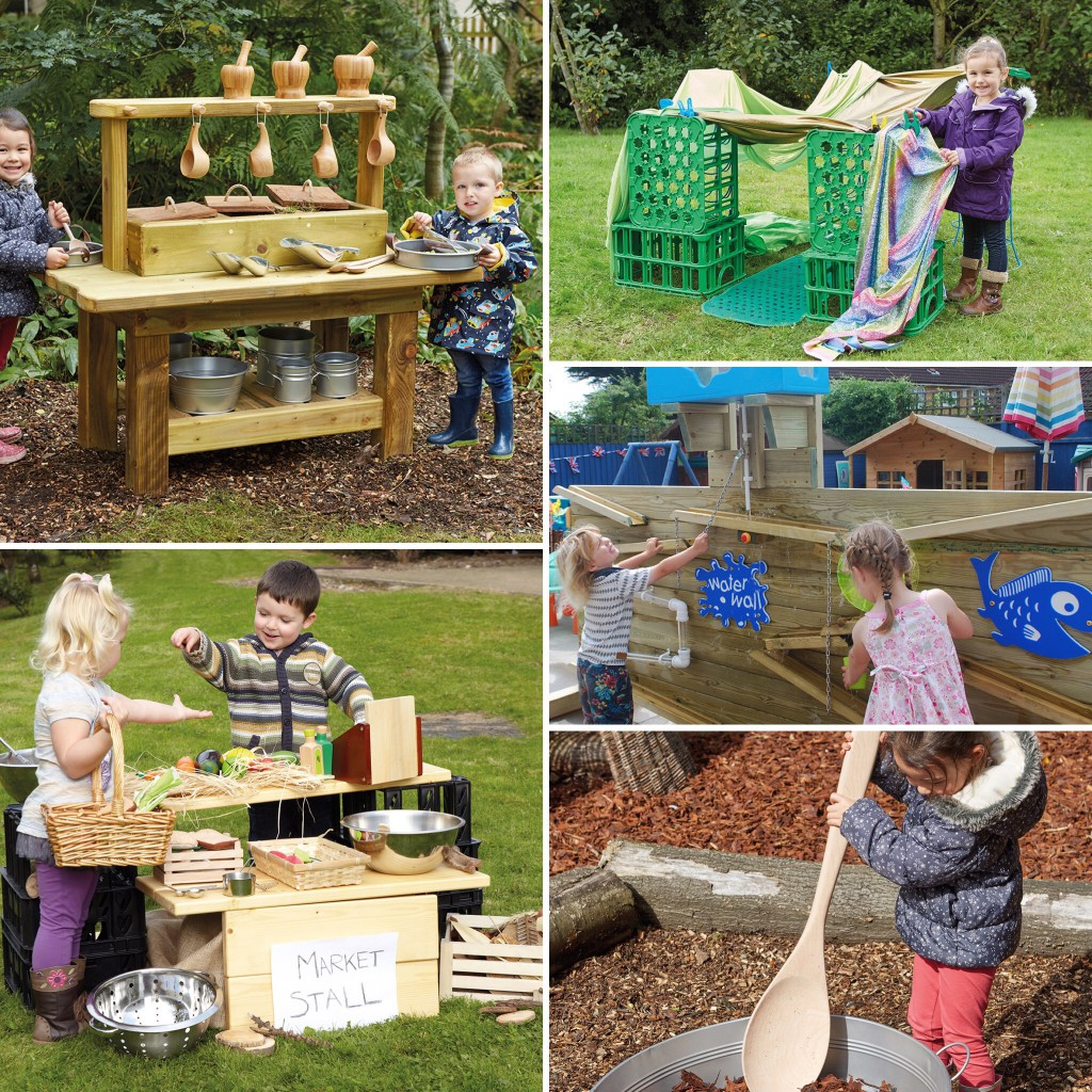 Outdoor Resources - mud kitchen