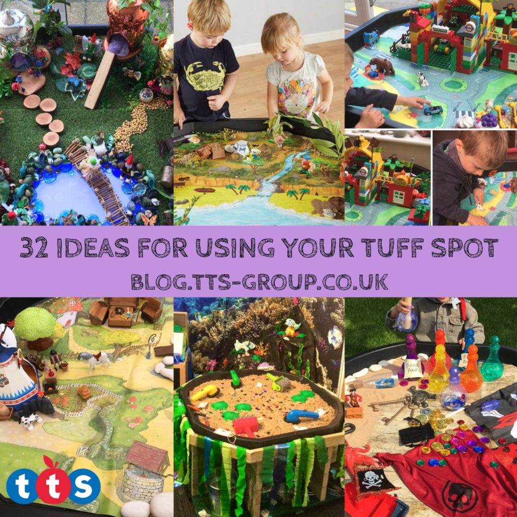 32 ideas for using your tuff spot