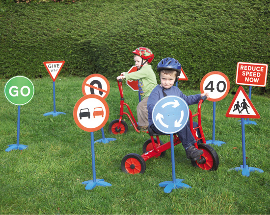 Traffic Signs Set - How to incorporate British Values into everyday play