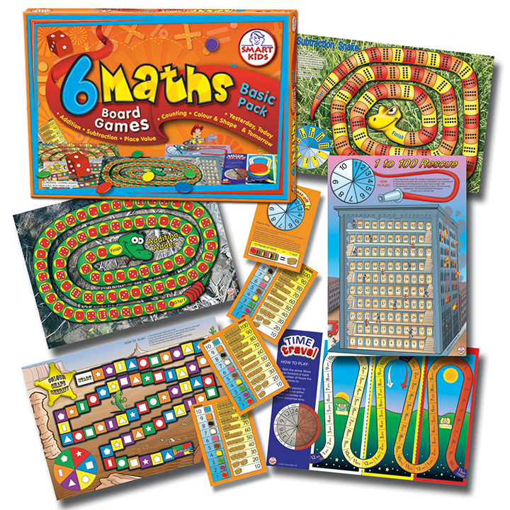 Maths Board Games