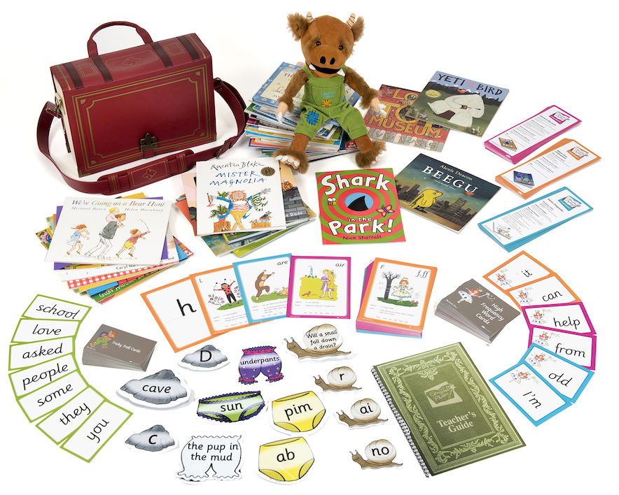 Storytime phonics - phonic teaching games