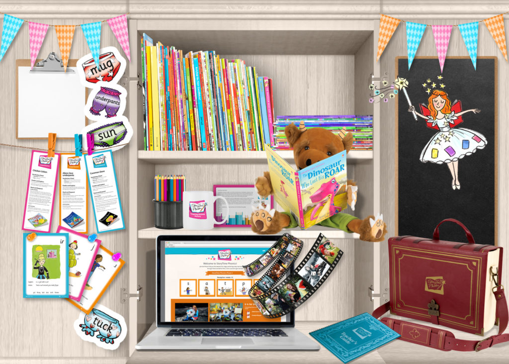 StoryTime Phonics cupboard