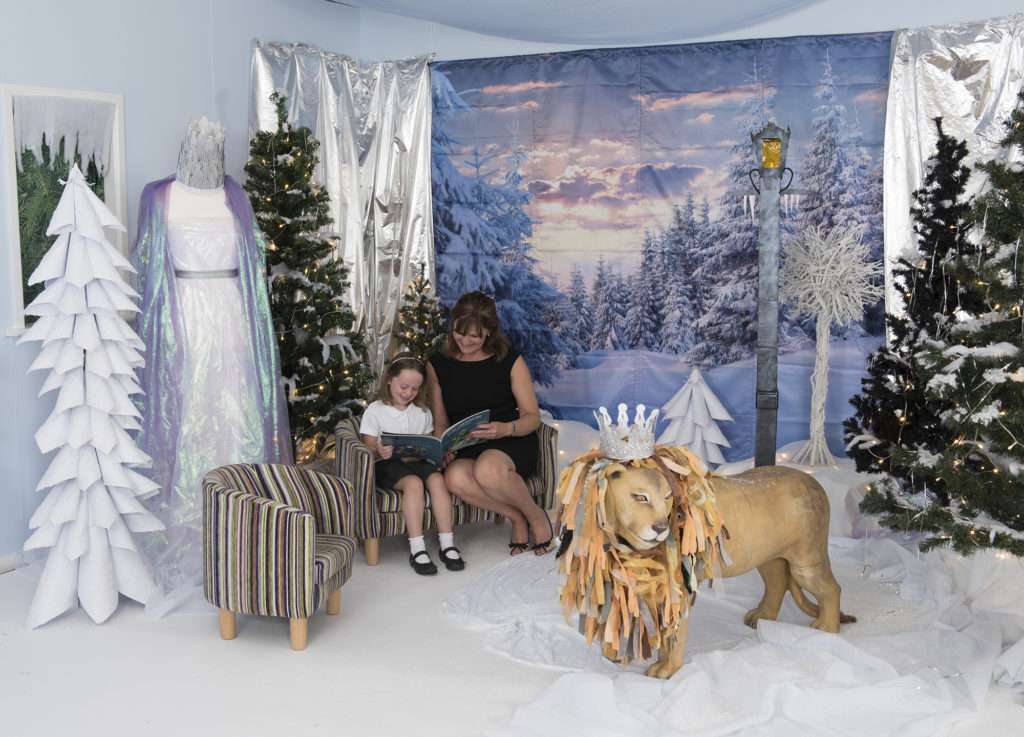 Frozen narnia themed Immersive environment display