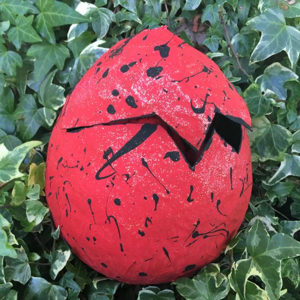 papier mache egg 6