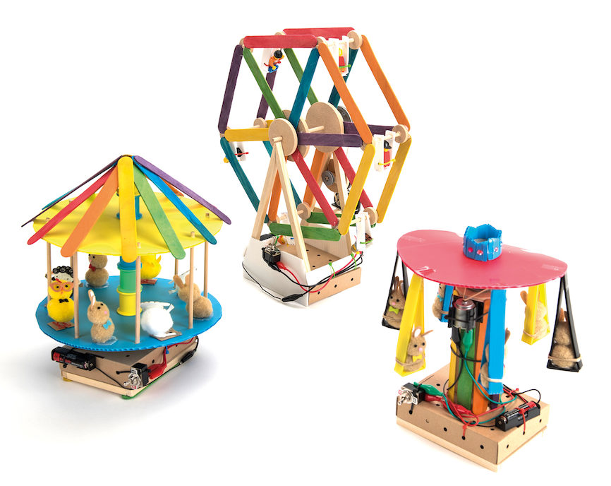 fairground DT project kits