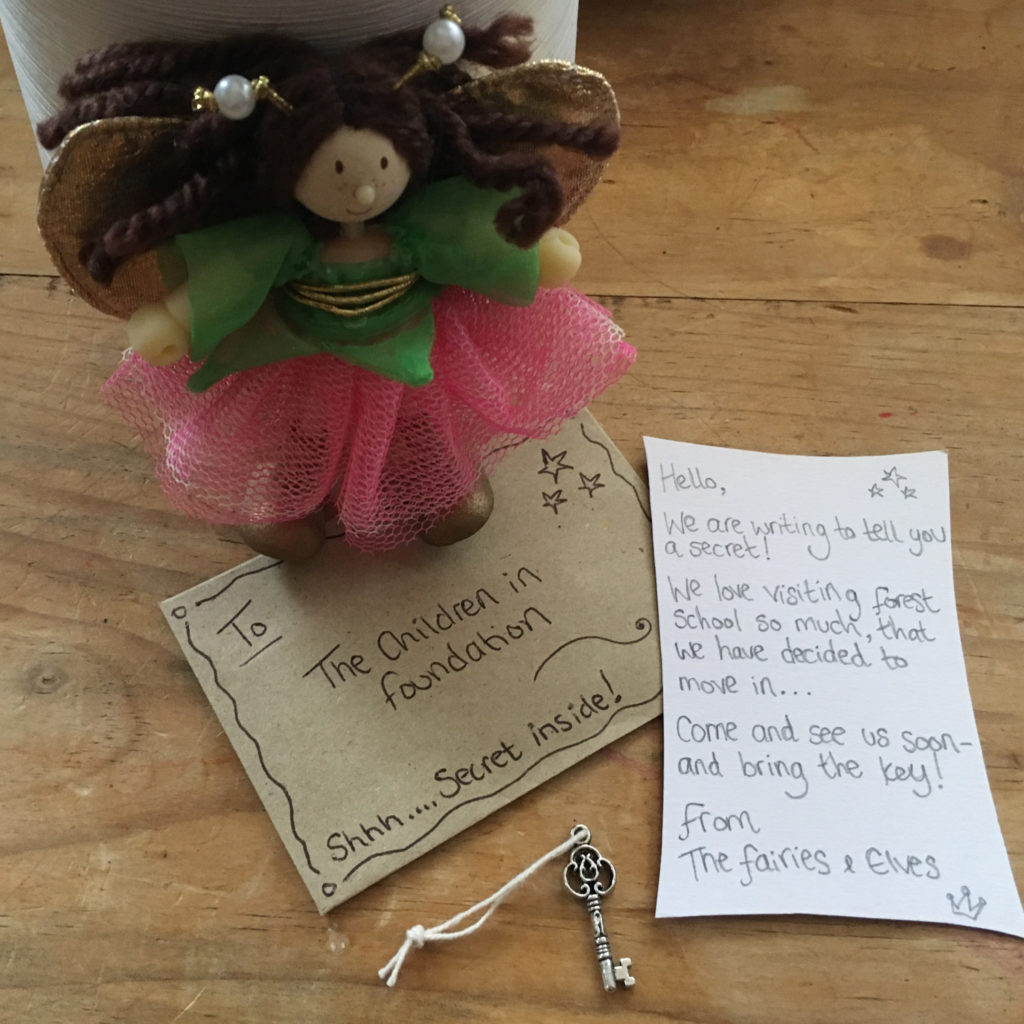 Fairies and elves found at forest school tts inspiration for Fairy letter ideas