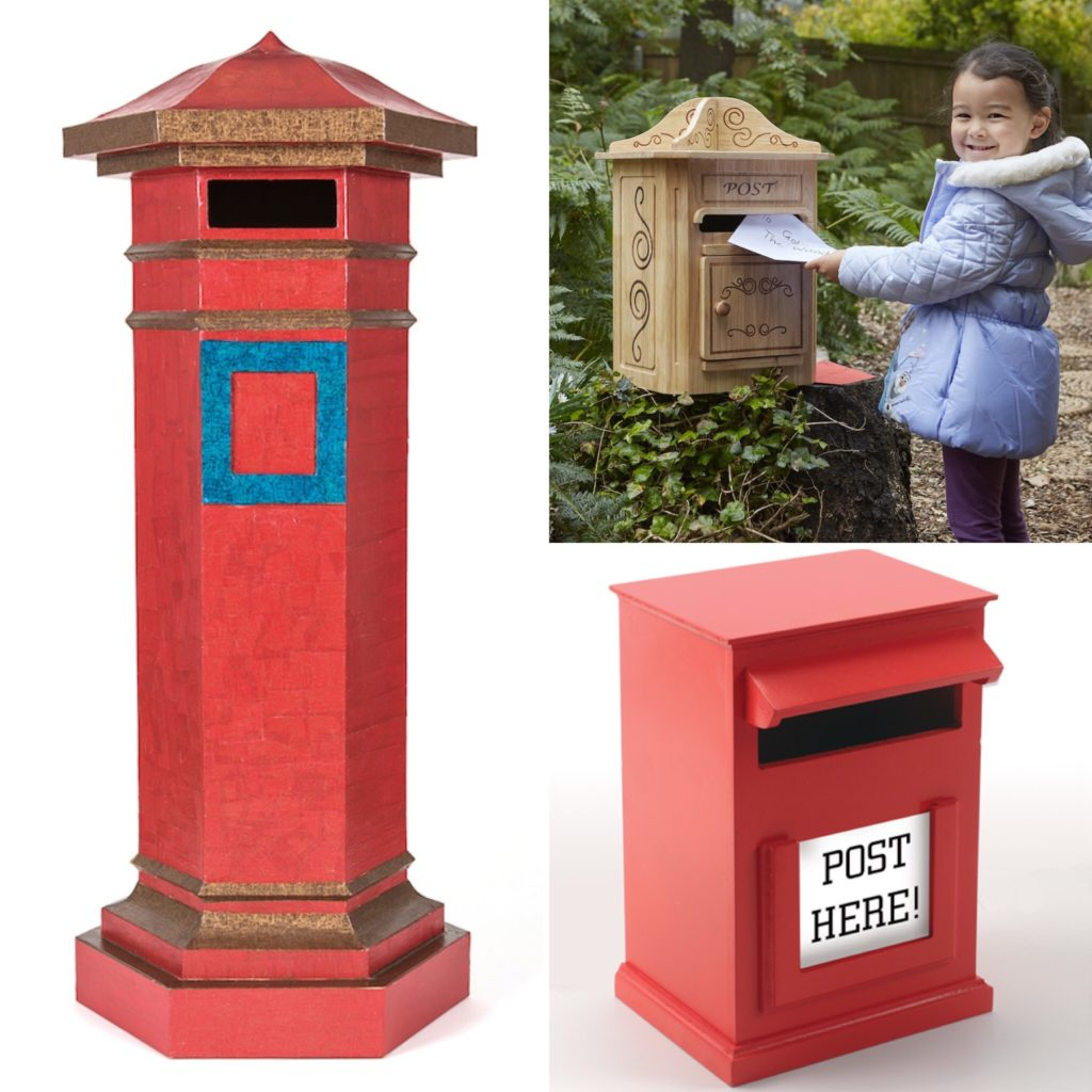 Christmas post letter box