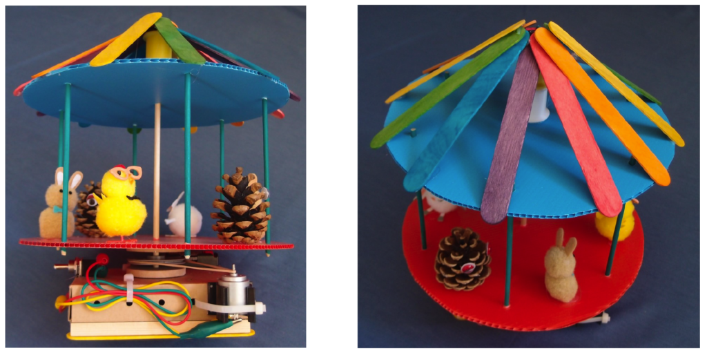 KS2 DT project - make your own merry go round