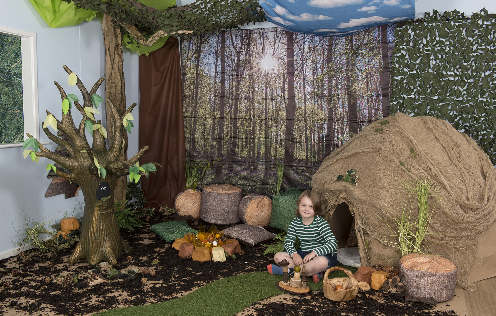 How to make a magical woodland learning location - TTS ...