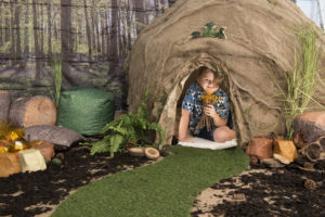 Woodland themed learning location