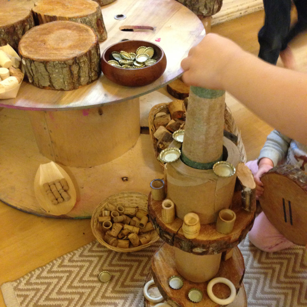 loose parts playlittle miss early years