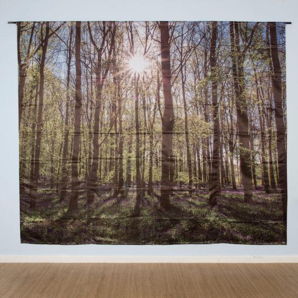 woodland backdrop panel