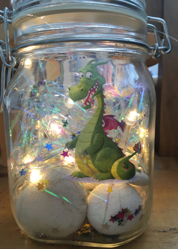 Dream jar BFG roald dahl dragon