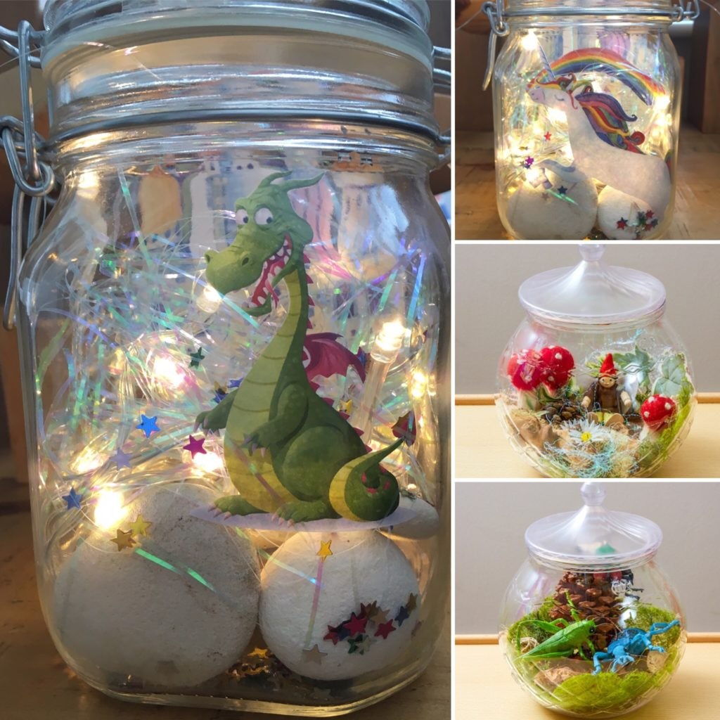 Roald Dahl Inspired Small World Dream Jars