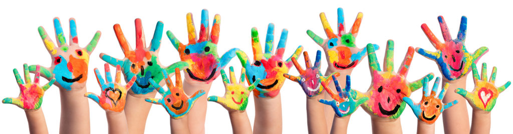 mindfulness happy hands
