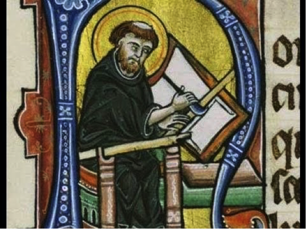 Anglo saxon ink - monk