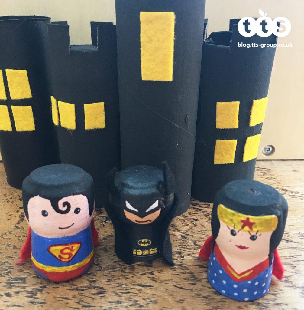superhero cork characters