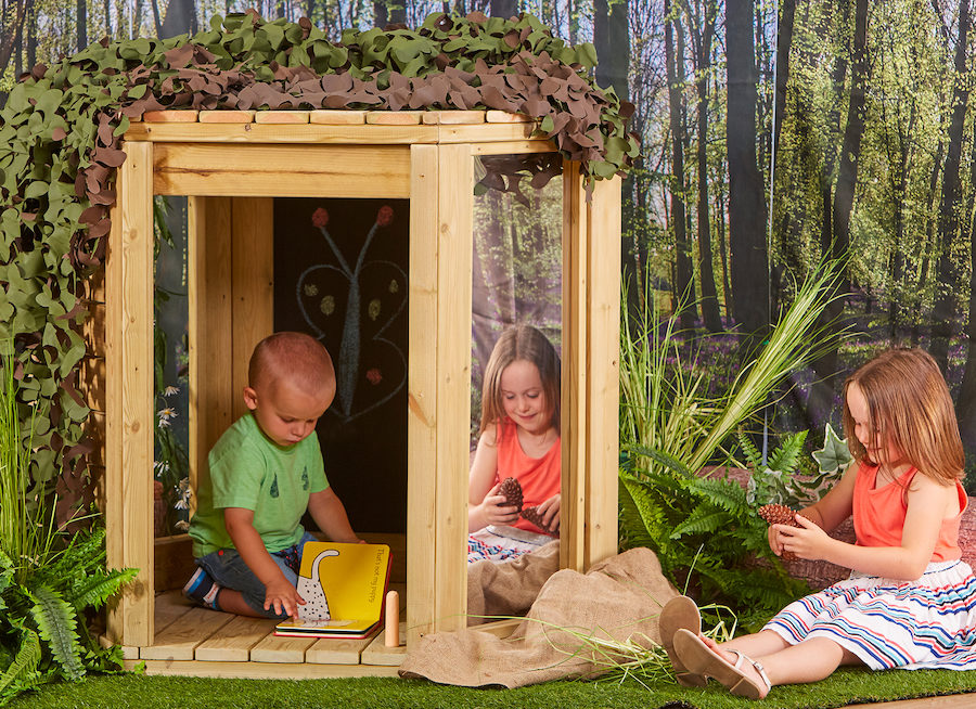 outdoor den pod