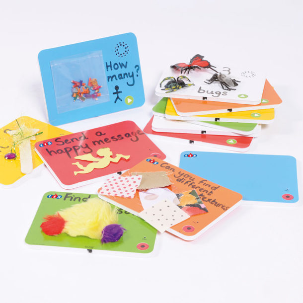 recordable talk-time cards ICT in Early years