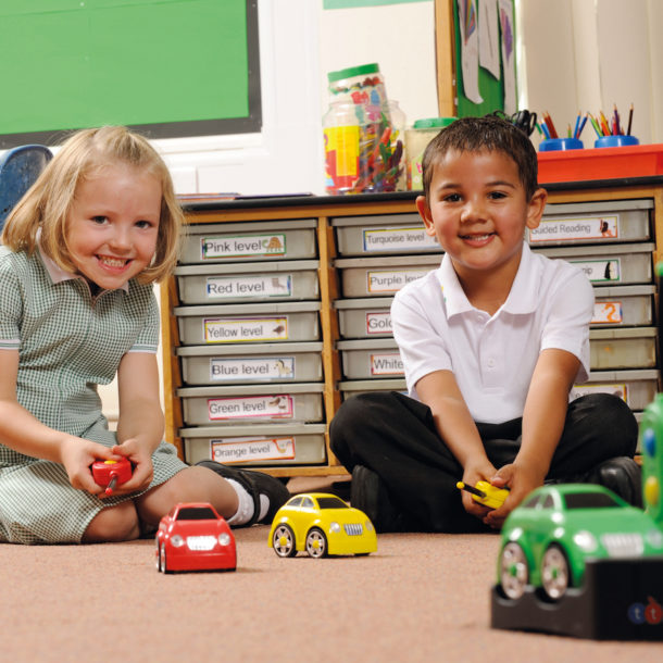 Easi-cars ICT in early years