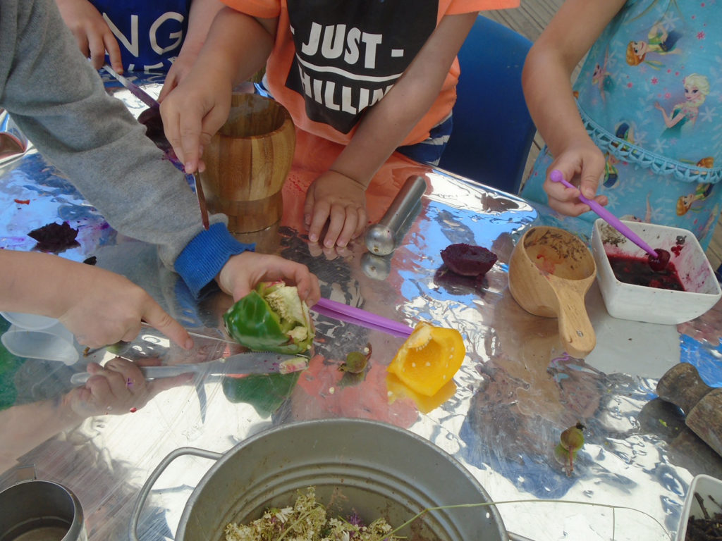 Natural paint making: why and how it's become one of our favourite experiences