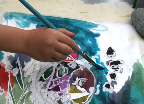 How to Batik - art