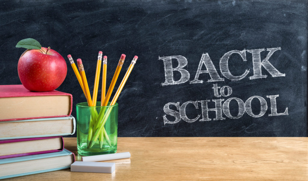 Back to school - activity suggestions