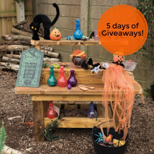 5 days of Halloween giveaways