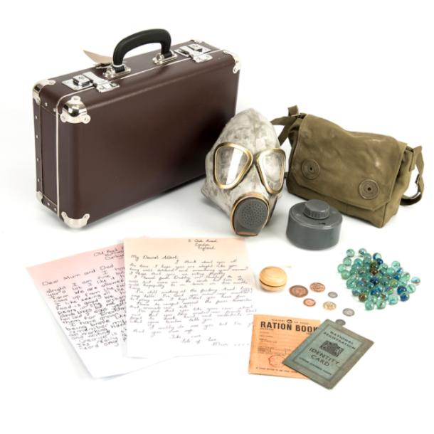 WW2 evacuation suitcase