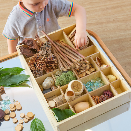 The Appeal Of Tinker Trays For Loose Part Play By Little