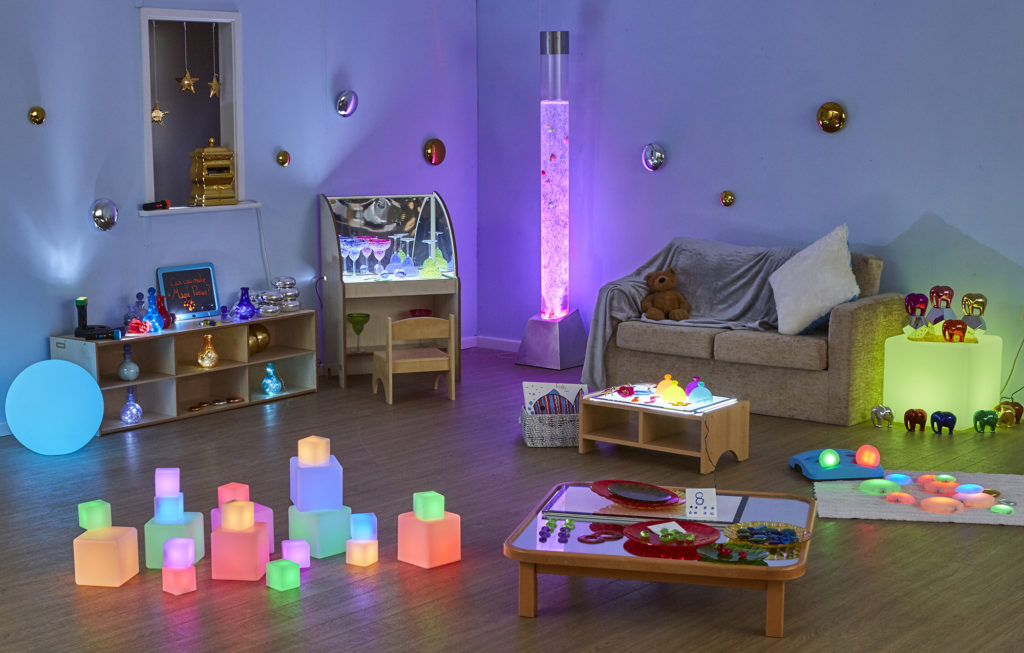 Light up learning with sensory glow resources