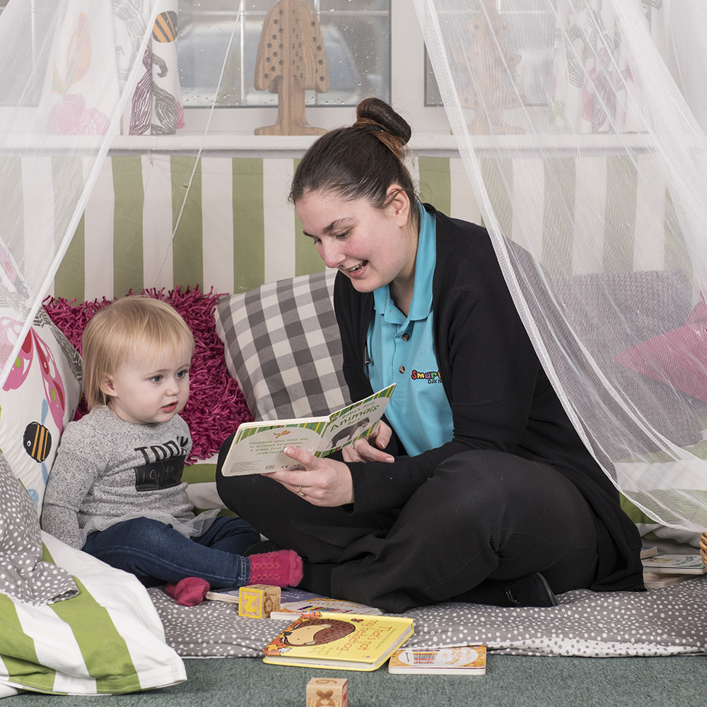 Magical moments - reading areas