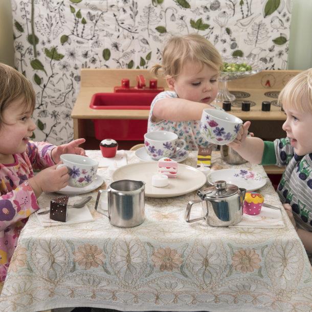 role play making tea