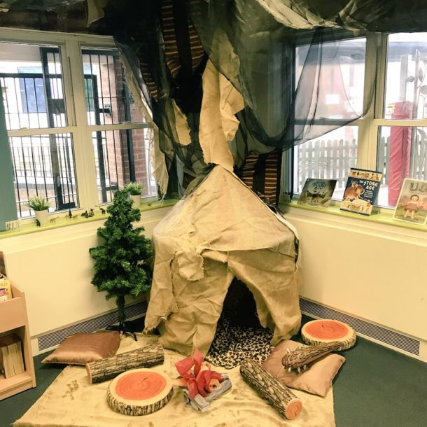 Stone Age classroom Display