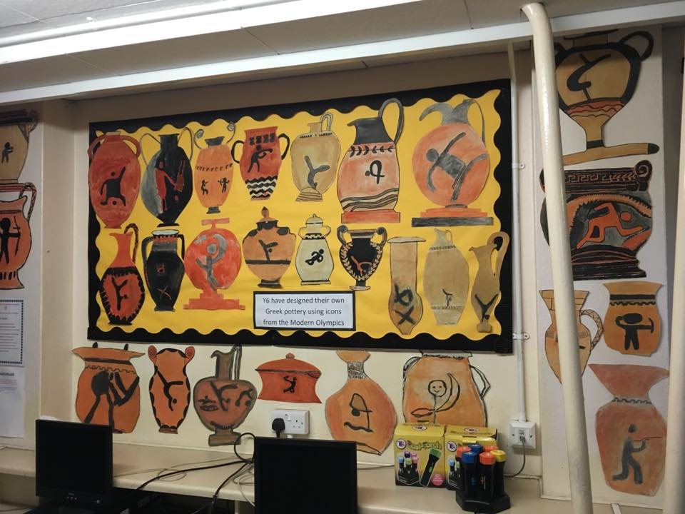 classroom display ideas - ancient greece