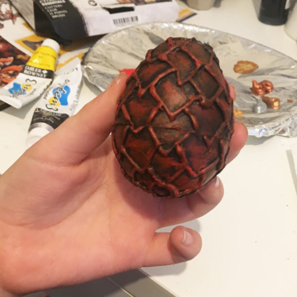 Dragon egg craft