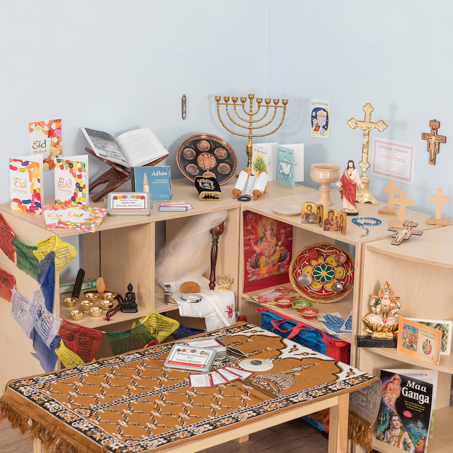 Religious artefacts for the classroom and teaching