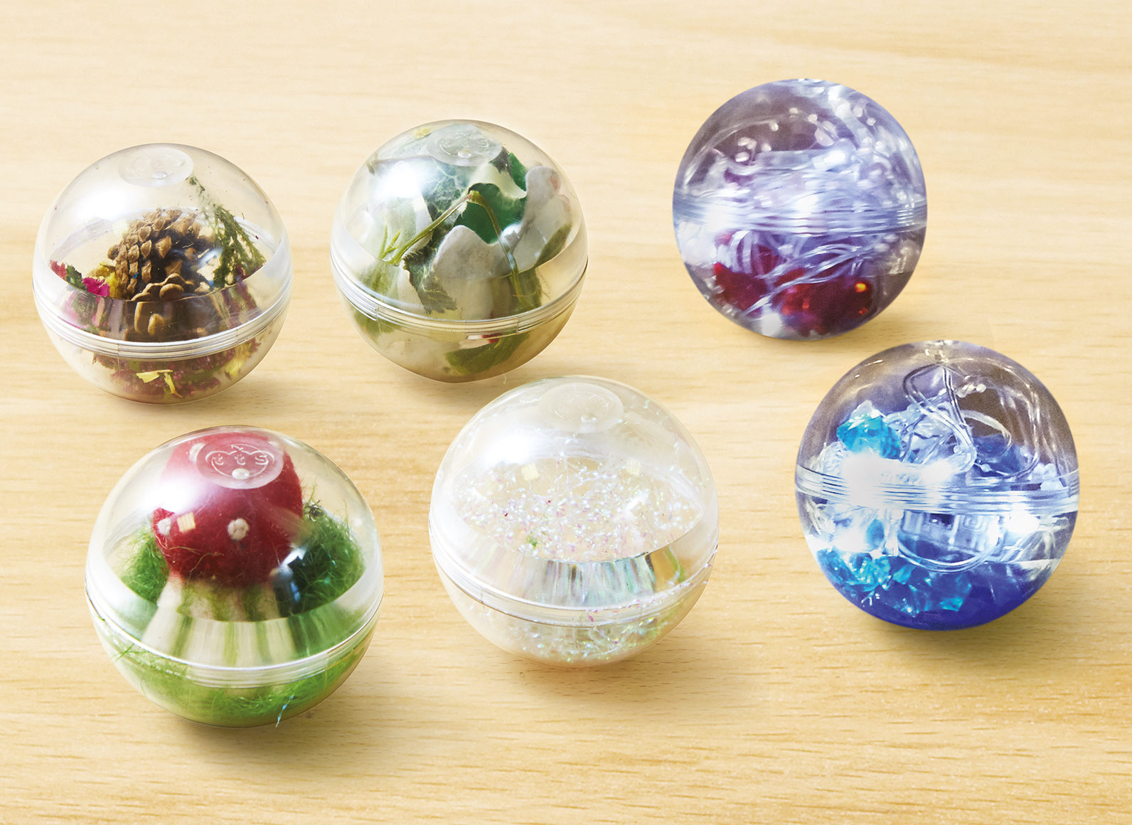 Ideas for filling baubles
