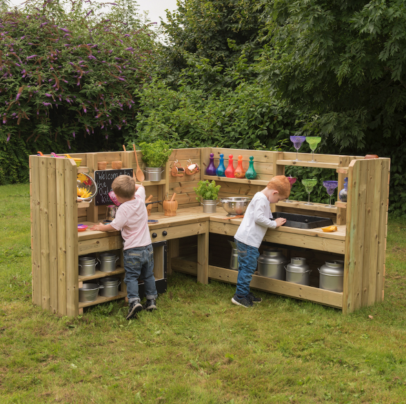 Mud Kitchens - Top tips and ideas