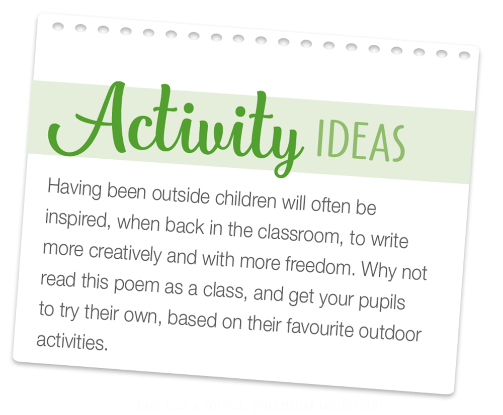 Outdoor Learning - a tool for teaching and learning