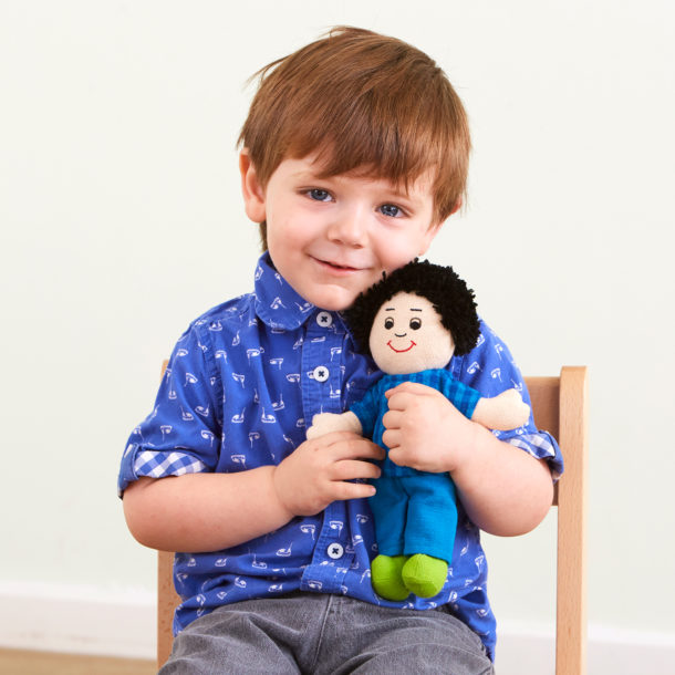 Cultural diversity dolls to support emotional health and well-being