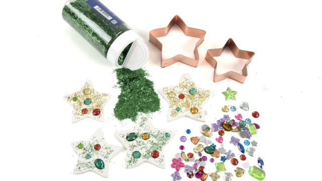 Materials for making clay stars