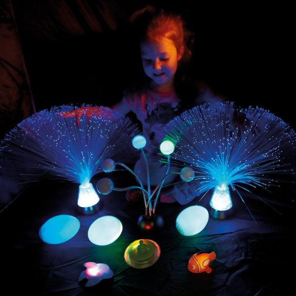Light Up Dark Den Sensory Kit